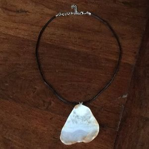 Jewelry - Ancient agate handcrafted necklace.